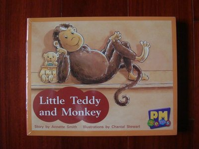 PM Gems ◎ Little Teddy and Monkey【Red Levels 3,4,5 / 一套十冊,恕不分售】