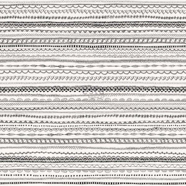 【Uluru】歐洲期貨壁紙.童趣 lace ribbon (3色) 蕾絲緞帶 條紋 幾何 兒童房 壁紙 HE106系列