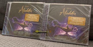 OST Aladdin 阿拉丁CD 2019 (包郵) Will Smith, Zayn, Zhavia Ward, DJ Khaled
