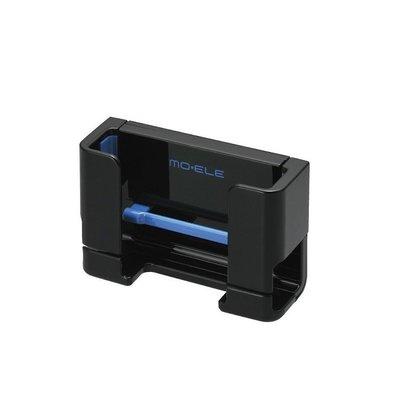 【日本進口車用精品百貨】CARMATE 橫縱對應智慧型手機架(黑藍) ME60 新北市