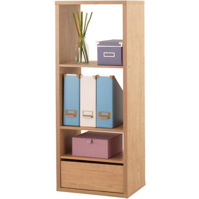 辦公室【家具先生】三格加厚收納櫃(附抽屜&活動板) 置物櫃 櫃子 玄關櫃 邊櫃 隔間櫃 書櫃 書架 展示櫃 2123NA