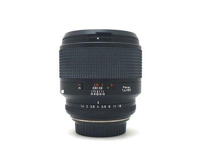 @佳鑫相機@(中古託售品)CONTAX N CarlZeiss T* 85mmF1.4加拿大改Canon自動對焦