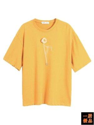 T恤女 短袖t恤 寬鬆上衣 純棉T恤 半袖丅恤