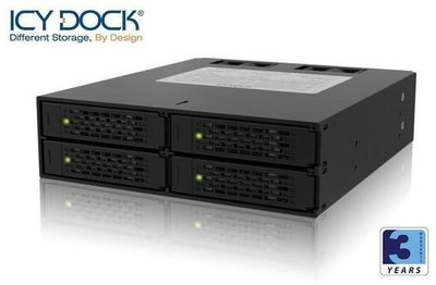 {MPower} 台灣名廠 ICY Dock MB994SP-4S 4 Bay 2.5 SAS, SATA HDD Mobile Rack ( 內置風扇 ) - 原裝行貨