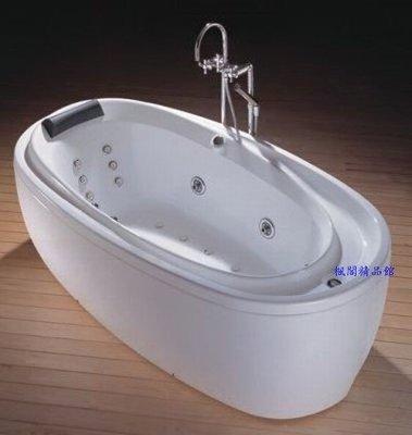 ╚楓閣☆精品衛浴╗Lilaiden☆Nobility氣泡渦漩式雙系統按摩浴缸(含水底燈)◇不含龍頭
