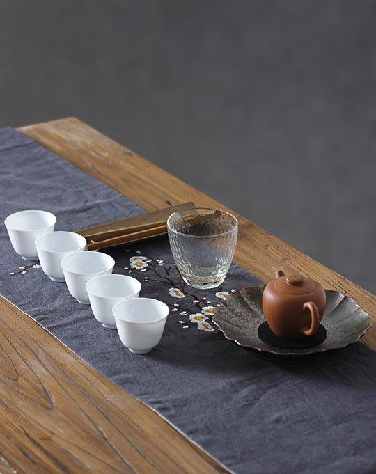 茶杯墊茶壺墊吸水平整養壺墊茶道布藝茶具可以堂普洱茶苑 小(7mm)