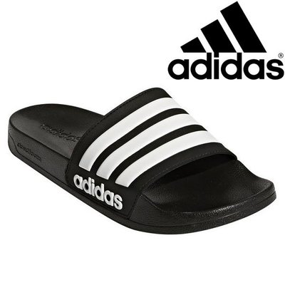 【鞋印良品】愛迪達 ADIDAS NEO 防水 透氣 拖鞋 休閒 AQ1701 黑 經典 百搭 男女鞋