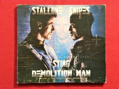CD/DD39/ 電影原聲帶 / sting史汀/ demolition man 超級戰警/ 英國盤 /非錄音帶卡帶非黑膠