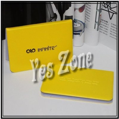 Yes Zone 偶像精品 卡片銀包 卡片套 INFINITE 聖圭東雨優鉉Hoya成烈L成鍾 清貨$20包郵
