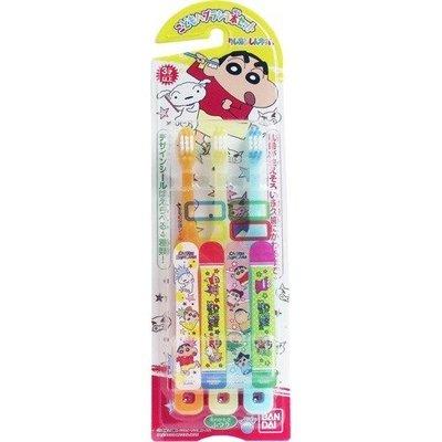 【小糖雜貨舖】日本 蠟筆小新 兒童牙刷 (3入)