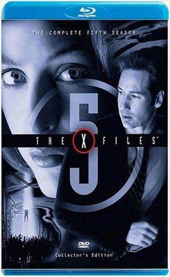 【藍光電影】X檔案  第五季   共3碟  The X-Files Season 5 (1997) 不兼容PS3、PS4