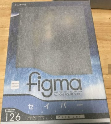 figma 126 fate zero saber 連電單車 加黏土人