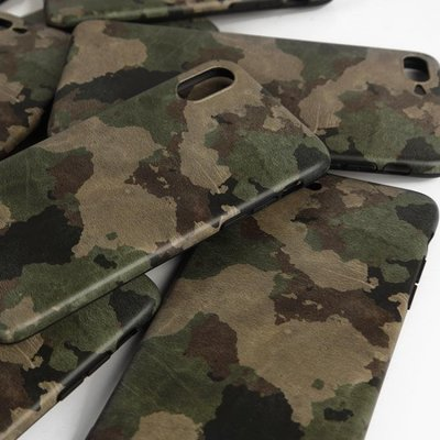 軍綠迷彩蘋果X冷淡風iphone7/8plus