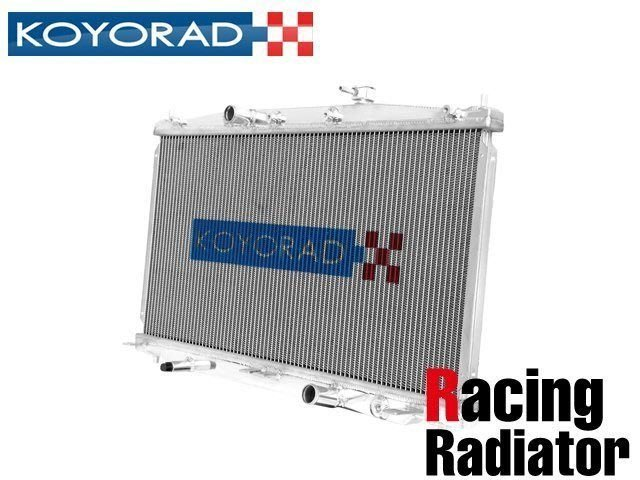 日本 KOYORAD 鋁合金 加大 水箱 Mazda RX-7 FD3S 專用