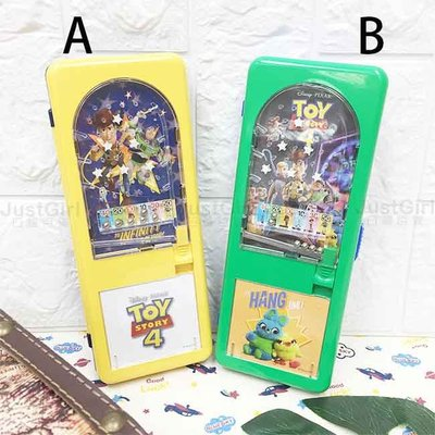 玩具總動員4 彈珠檯筆盒 兩款 正版授權