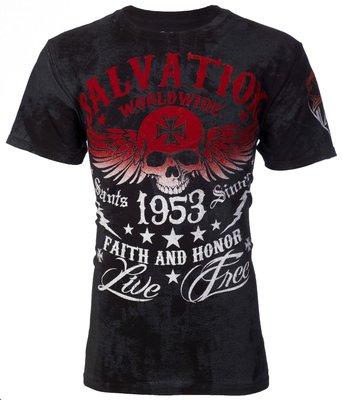 @50%OFF@AMERICAN FIGHTER AFFLICTION  重機 哈雷  T-Shirt (( 含運 ))