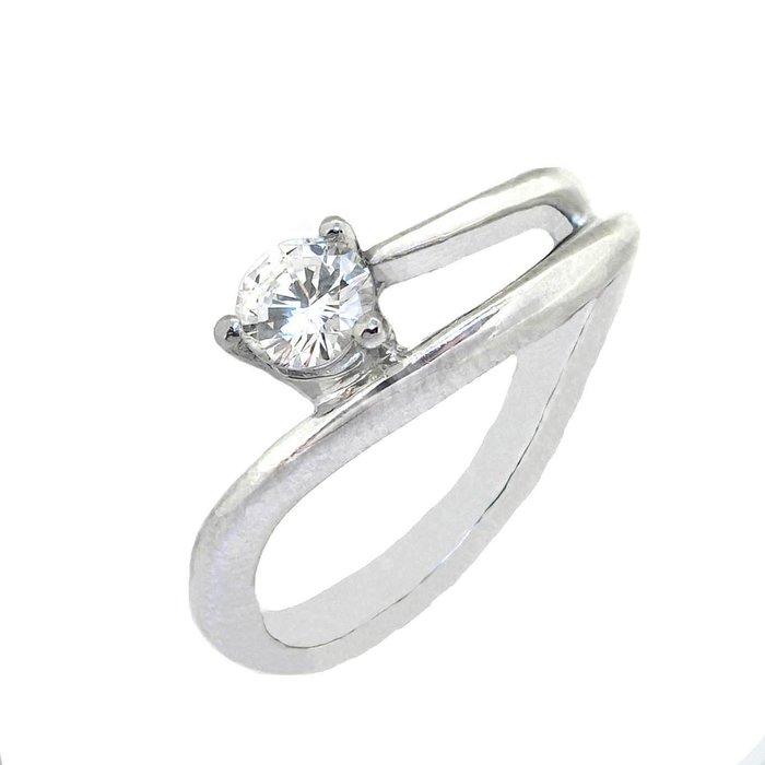 【JHT 金宏總珠寶/GIA鑽石專賣】0.31ct天然鑽石戒指/材質:PT900(D000224)