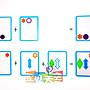 ◎寶貝天空◎NG【疊影重重-初階版】NG商品,Swish形狀疊疊樂,卡牌配對遊戲,空間邏輯思維訓練,兒童益智玩具桌遊