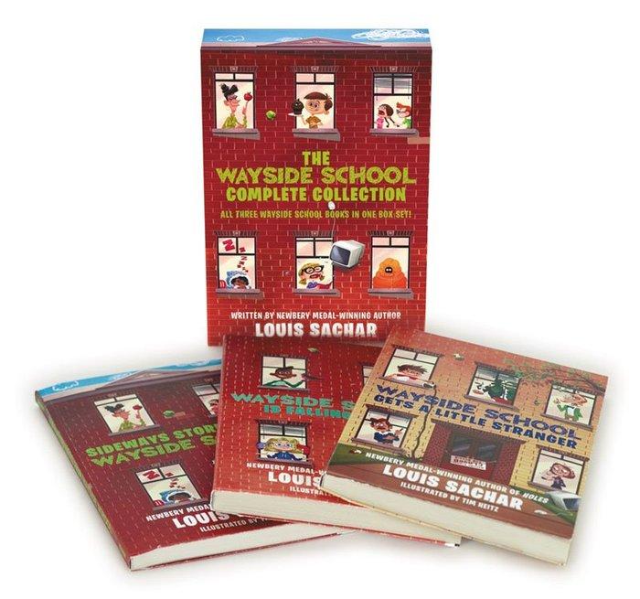 *小貝比的家*THE WAYSIDE SCHOOL COMPLETE COLLECTION/內含三冊/7~12歲