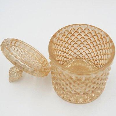 蠟燭材料包水晶蠟燭罐菱格玻璃罐DIY手工自制禮品材料歐式創意香薰蠟燭杯子   全館免運