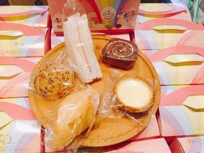 ❤ 雪屋麵包坊 ❥ 餐盒款式 ❥ 80 元餐盒 ❥ 20181222 款式