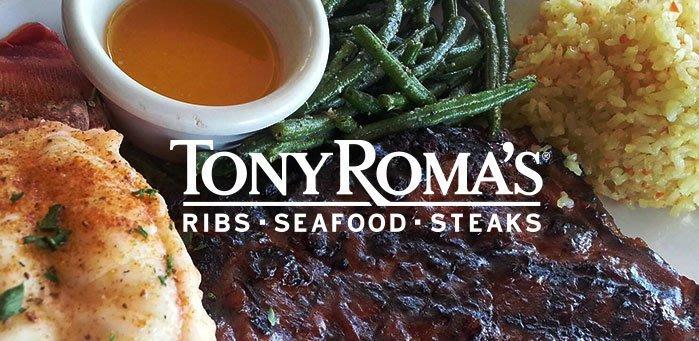 關島之家-關島Tony Romas、Capricciosa餐廳抵用券(3張以上) 原價USD$30 /每張特惠價$830