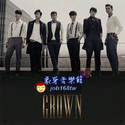 【象牙音樂】韓國人氣團體-- 2PM Vol. 3 - Grown (Ver. A)