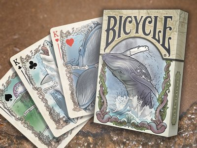 【USPCC撲克】SEVEN SEAS creature colorized playing cards