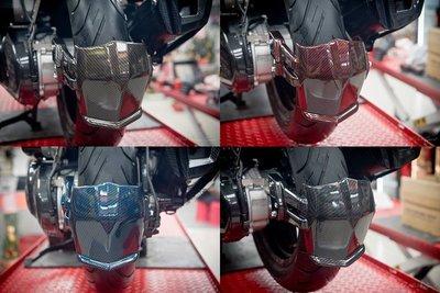Hz二輪精品 SMAX FORCE 後輪土除 水轉印 碳纖維 卡夢 水轉 後土除 S-MAX FORCE155 擋泥板