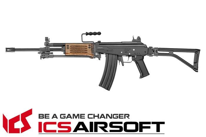 【翔準軍品AOG】ICS TOD ARM (黑)折疊托 AK 電動槍 全金屬 生存遊戲 ICS-91