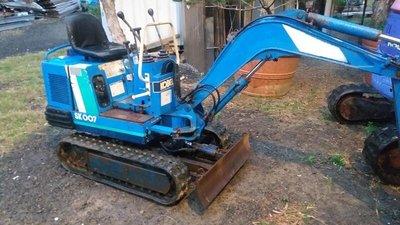 挖土機 怪手 sk007 700kg級 日本外匯車 原漆 點數少 大廠商 耐用型