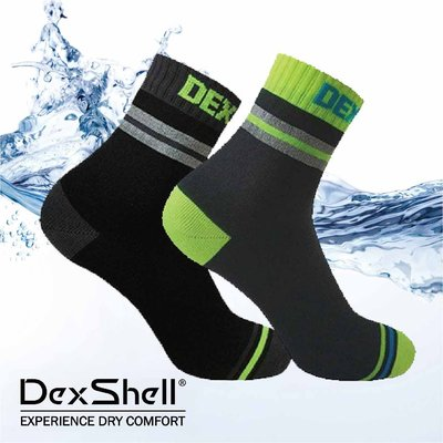 英國DEXSHELL PRO VISIBILITY CYCLING 低筒-反光專業騎行運動防水襪