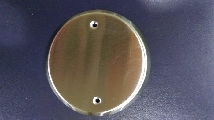 DIY水電材料 不鏽鋼圓封蓋板/燈具蓋板/天花板蓋板/ST蓋板/八角鐵盒蓋