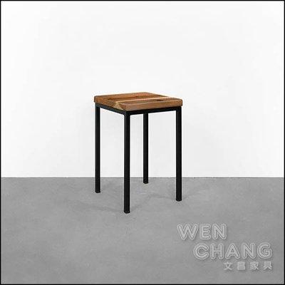 訂製品 鐵木椅凳 高腳椅 方凳  接受任何尺寸、顏色訂製 價格另計  CU074 *文昌家具*