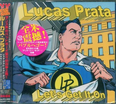 K - Lucas Prata - Let's Get It On - 日版 +2BONUS - NEW