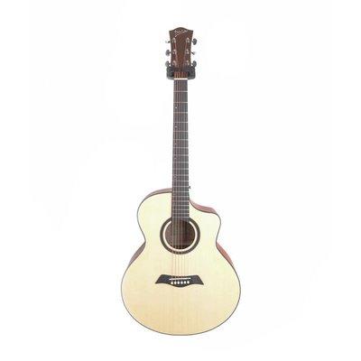 格律樂器 Deviser LS-120N-40 雲杉木合板 木吉他 JF桶身 缺角 民謠吉他