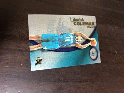 DERRICK COLEMAN  2001 EX 塑膠卡 9