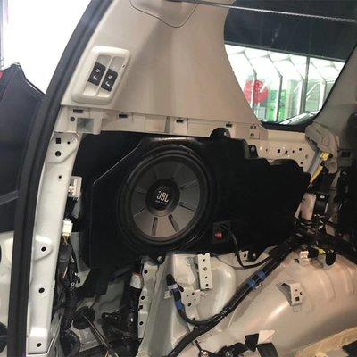 豐田霸道普拉多專用低音炮無緣音箱JBL汽車音響喇叭JBL單路功放