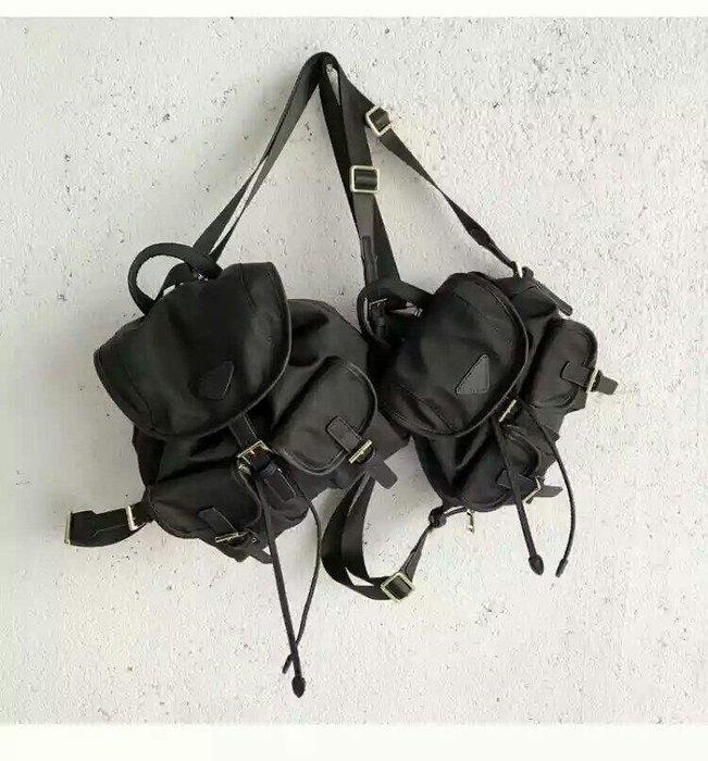時尚百搭防水牛津布後背包 手提單肩包 新款背包