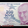 【Louis Coins】B1602-TURKEY-2009土耳其紙幣200Türk Lirası