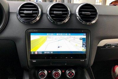 AUDI TT 8.8吋安卓專用機.奧斯卡代理.正版導航軟體.