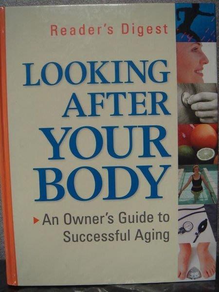 全新原文養生精裝書【Looking After Your Body】,只有一本,低價起標無底價!免運費!