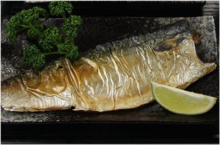 【晚餐系列】挪威薄鹽鯖魚(XL)/約240g±10g/片~一夜干/特大片等級~富含不飽脂肪酸EPA和DHA~