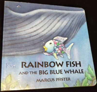 《Rainbow Fish and the Big Blue Whale》ISBN:0735814309│James