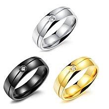 《316小舖》【100款316L鈦鋼戒指-送5個贈品 生日禮物 情侶對戒 銀戒金戒 黑戒藍戒尾戒子/項鍊條手鍊手環耳環】