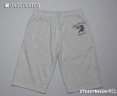 【 超搶手 】全新正品 2011 A/W 冬季最新 Undefeated Expect No Mercy Shorts 運動短棉褲 灰色 S M L