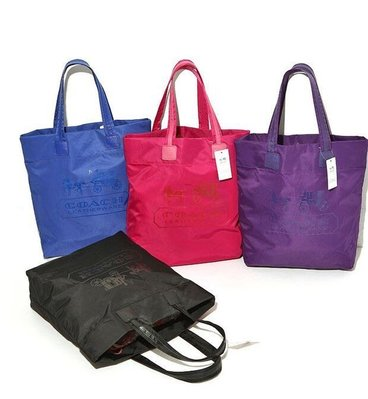COACH簡約環保購物袋