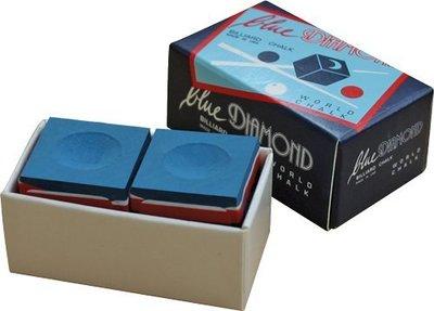 ☆ SUNRISE 嚴選 ☆ 【義大利 藍鑽 BLUE DIAMOND 巧克,職業高手的選擇,二顆包裝】撞球桿 撞球杆