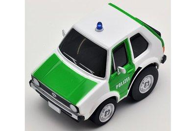 【秉田屋】TomyTec Z-34c Choro-Q 阿Q Zero Volkswagen VW 福斯 Golf 警車