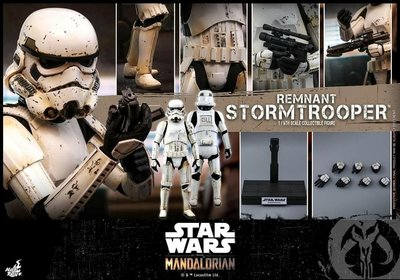 19/12 vip單hottoys star wars the mandalorian remnant trooper TMS011 已付$500 尾數$652